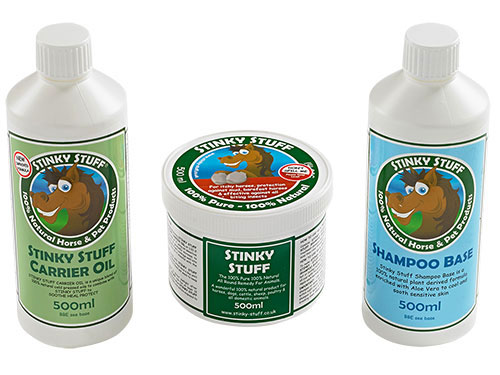 Horse Stinky Stuff Pack - Shampoo & Massage Rub for itchy horses