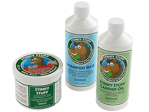 Horse No More Mites - Stinky Stuff Shampoo and Massage Rub