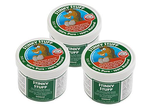 Horse Stinky Stuff Triple Saver