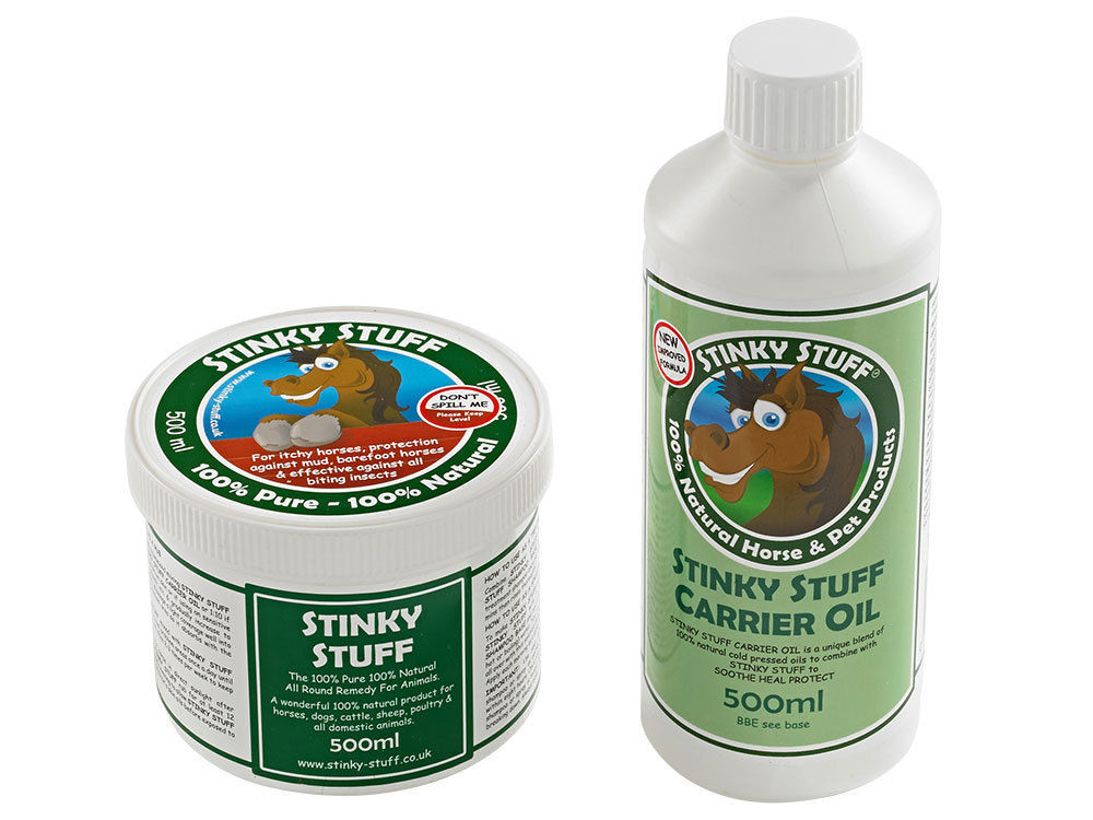 Natural horse remedies - itchy skin, minor wounds, lice and biting